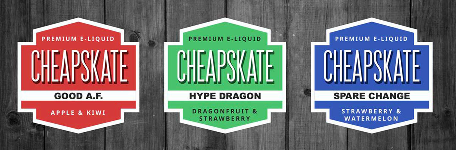 Cheapskate E Liquid 120ML by King of the Clouds