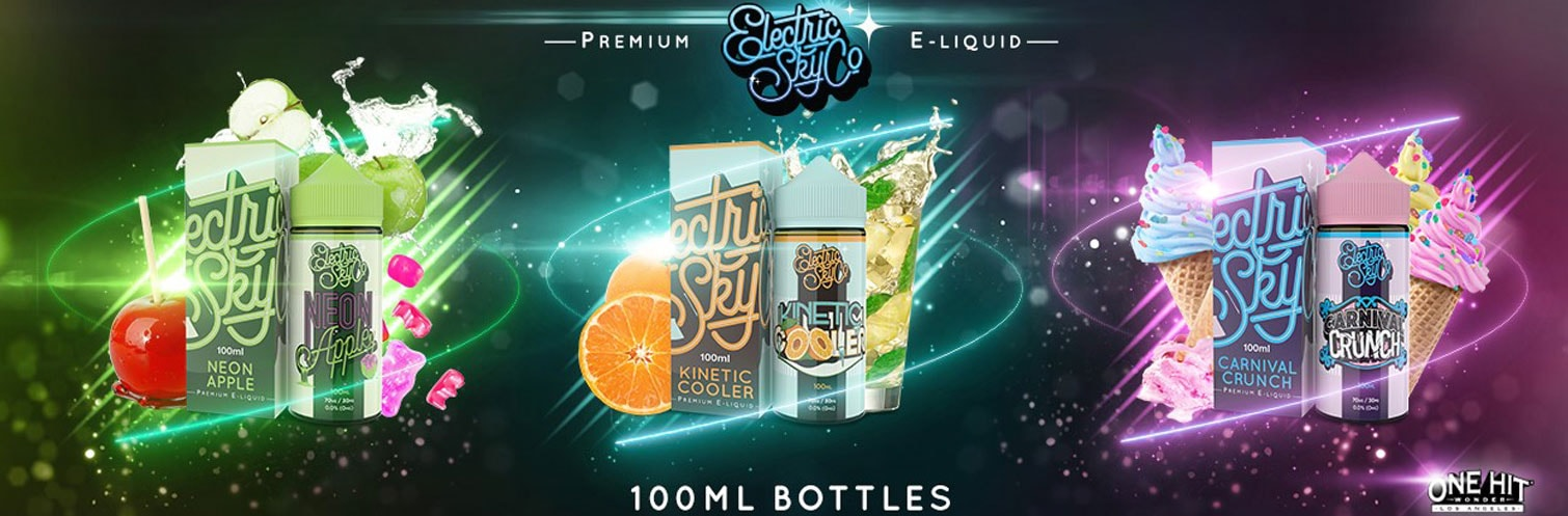 Electric Sky 100ml E-liquid by One Hit Wonder