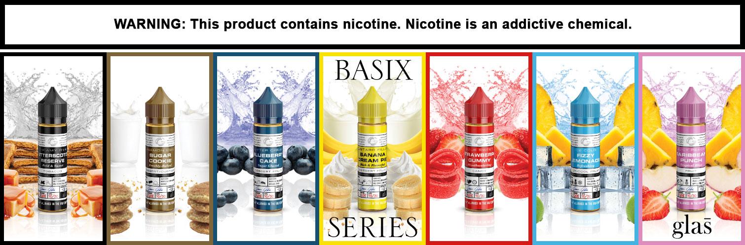 Basix Series By Glas E-Liquid 60ML