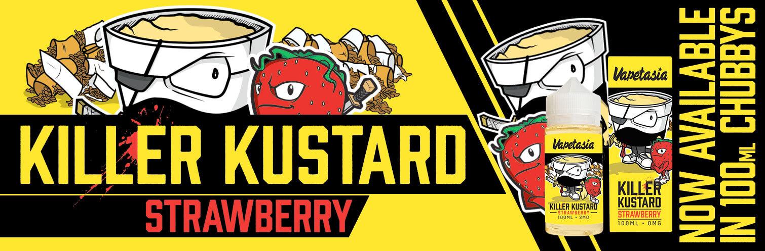Killer Kustard Strawberry - Vapetasia