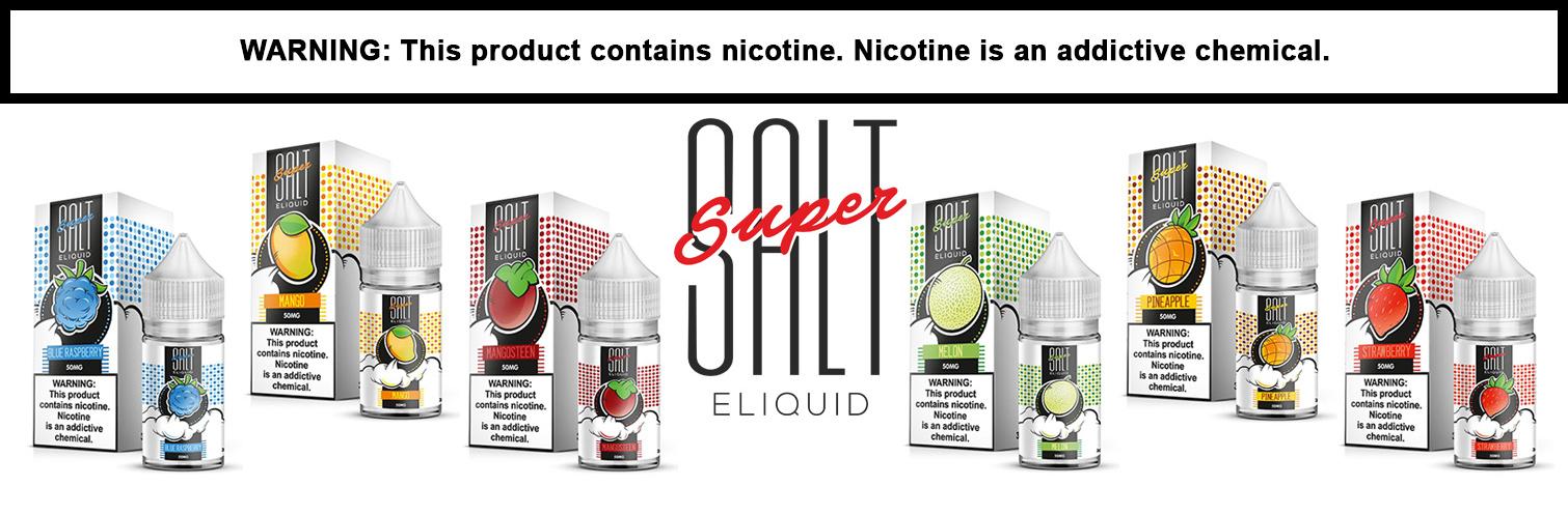 Super Salt Salt Nicotine E-Liquid By SUA Vapors 30ML