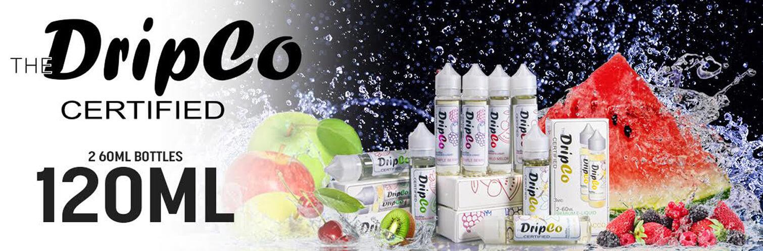 DripCo Certified E-liquid 120ml