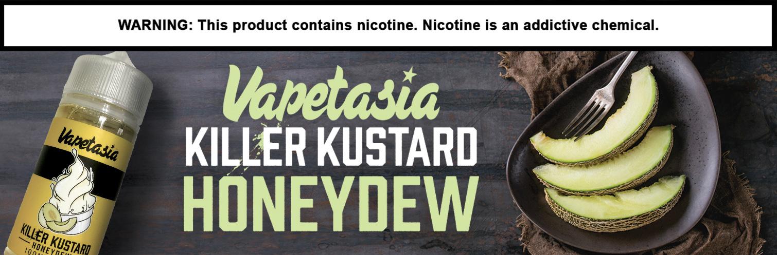 Killer Kustard E-liquid 100ml Honeydew