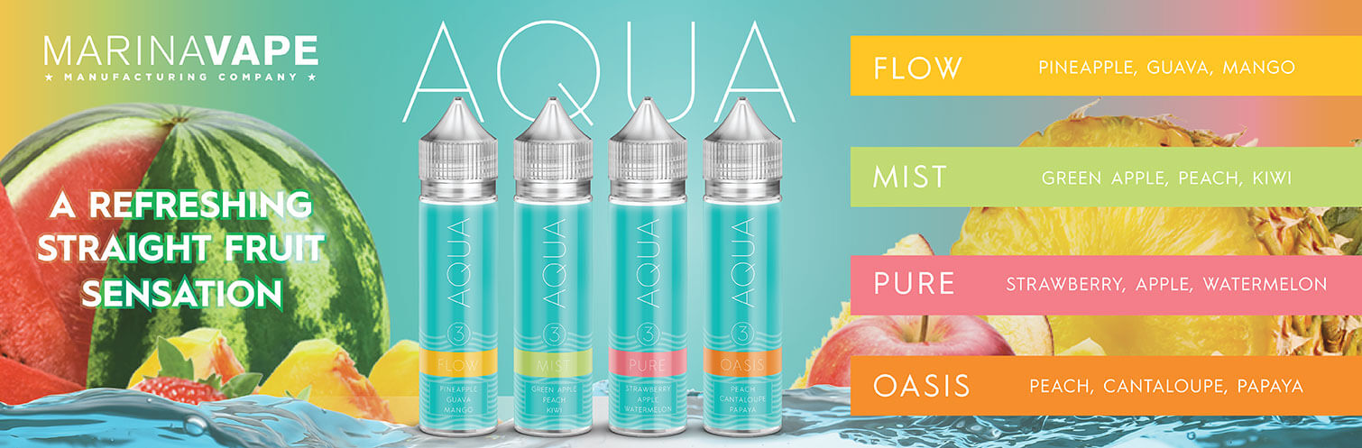 Aqua Eliquid 60ML by Marina Vape