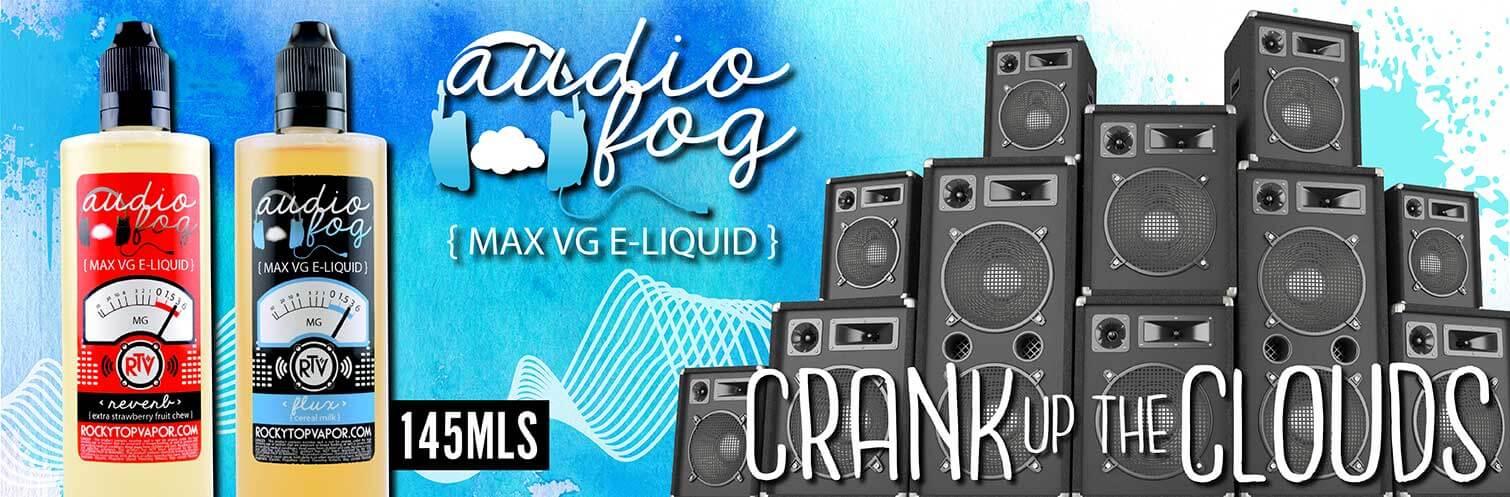 Audio Fog E Liquid 145ML By Rocky Top Vapor