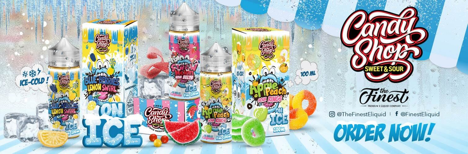Candy Shop Ice E-liquid 100ml by The Finest