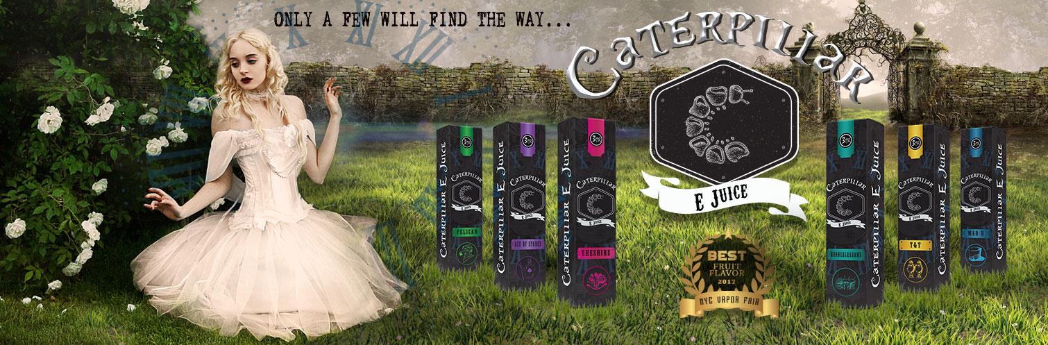 Caterpillar E-liquid 60ml by British Vapors