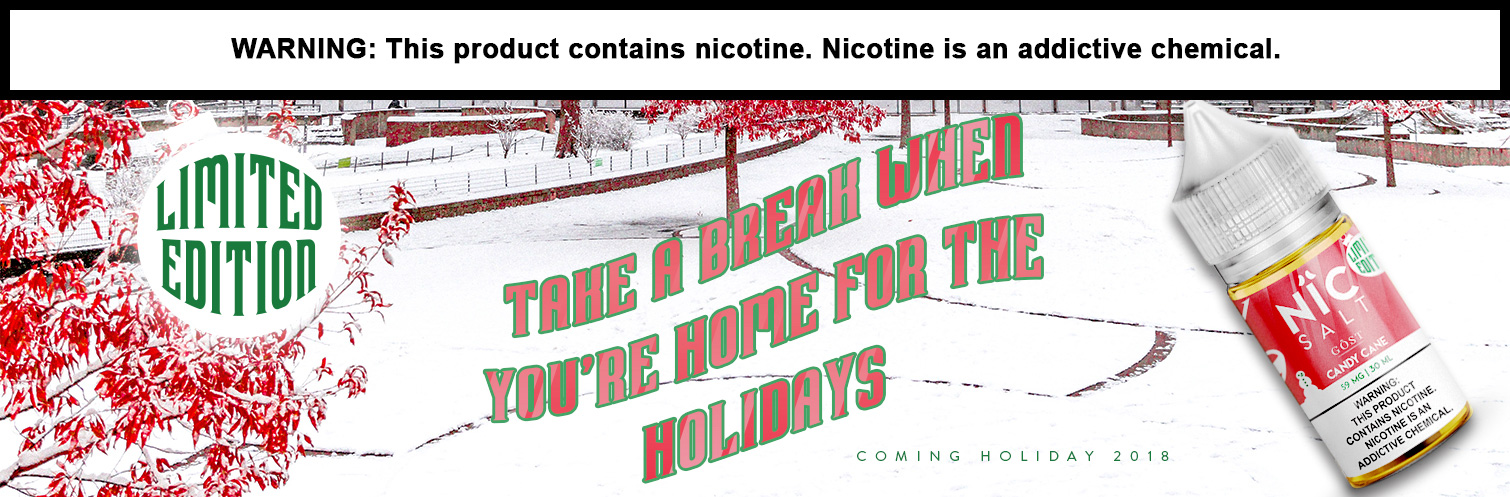 Gost Nic Salt Candy Cane Coming Soon!