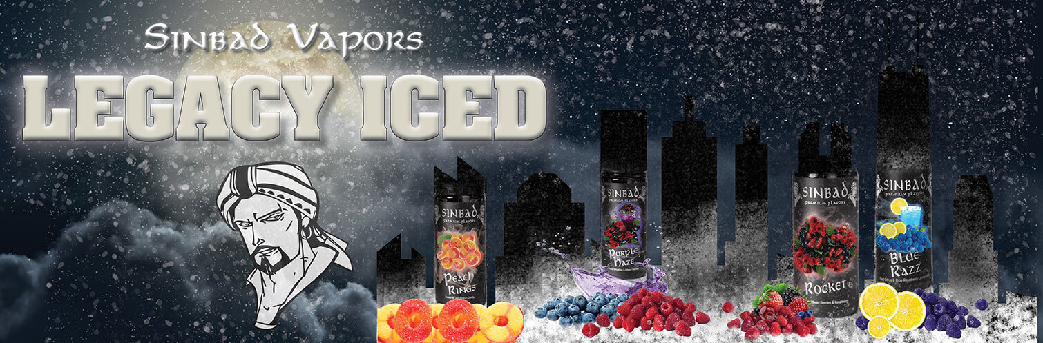 Legacy Iced 100ml E-liquid by Sinbad Vapors