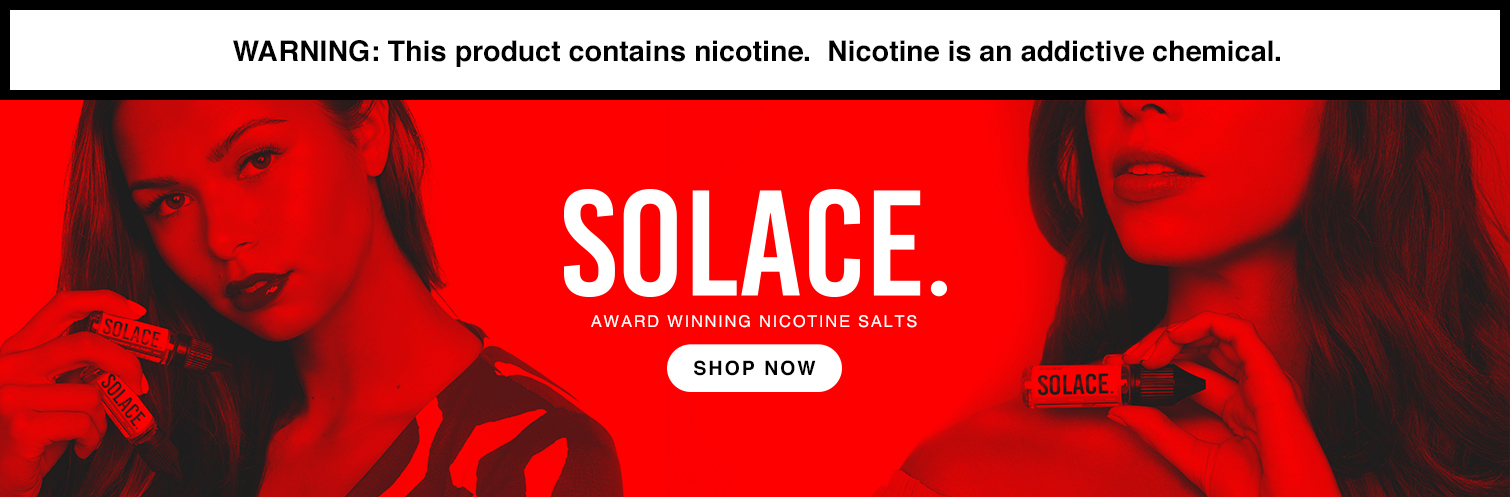 Solace Nicotine Salts by Egeneration