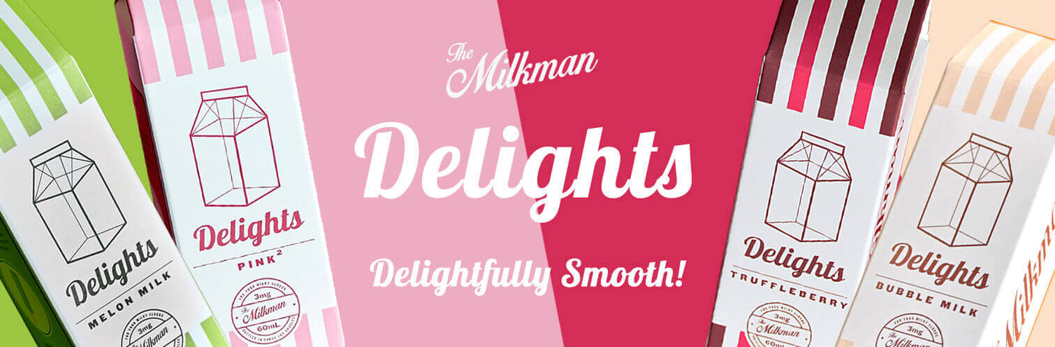 The Milk Man Delights 60ml by The Drip Club
