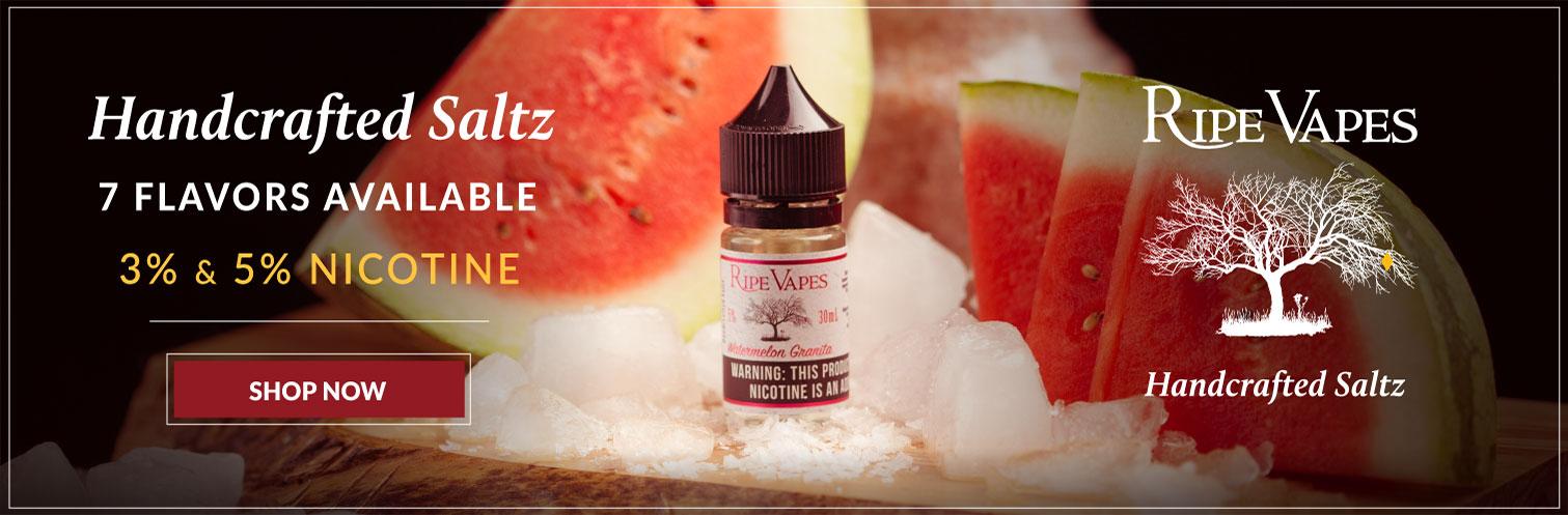 Ripe Vapes Saltz Nicotine Salt 30ml