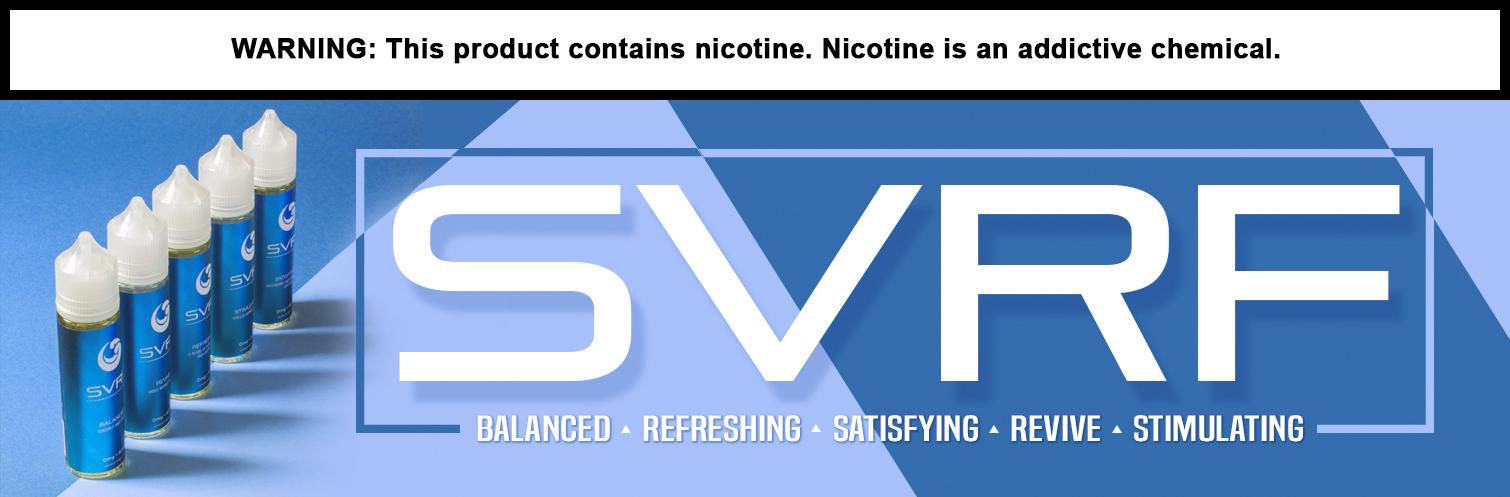SVRF E-liquid 60ml by Saveurvape